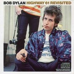 Highway 61 Revisited skivomslag